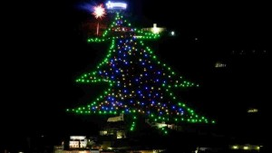 gubbio christmas tree