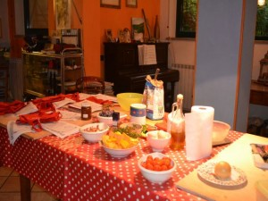 room cooking class